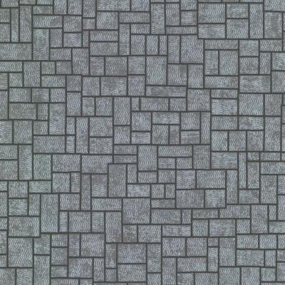 Papel de Parede Etude Silver Geometric 0,50x10m