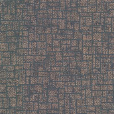 Papel de Parede Etude Charcoal Geometric 0,50x10m - Home Finish