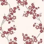 Papel de Parede Cherry Blossom Scarlet 0,50x10m - Home Finish