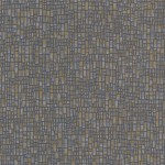 Papel de Parede Spencer Charcoal Mosaic 0,50x10m - Home Finish